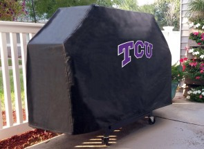 Texas Christian University Logo Grill Cover