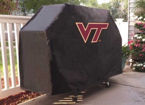 Virginia Tech Logo Grill Cover