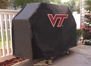 Virginia Tech Logo Grill Cover