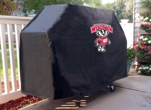 University of Wisconsin - Bucky Logo Grill Cover