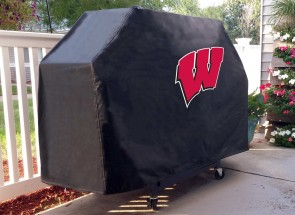 University of Wisconsin - W Block Logo Grill Cover