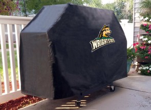 Wright State University Logo Grill Cover