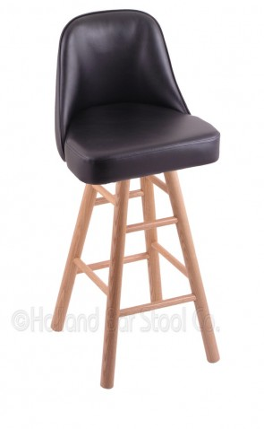 Grizzly Domestic Hardwood Swivel Stool