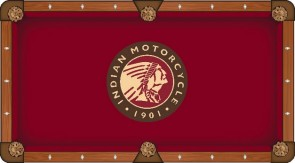 Indian Motorcycles Headdress Billiard Cloth