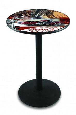 Indian Motorcycles L214 Pub Table
