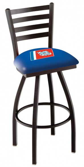 L014 US Coast Guard Logo Bar Stool