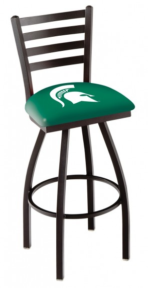 L014 Michigan State University Logo Bar Stool