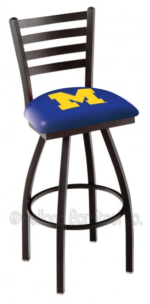 L014 University of Michigan Logo Bar Stool