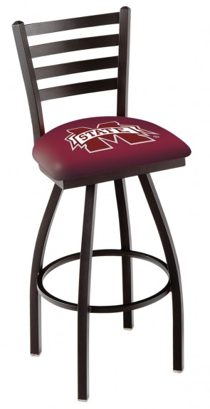 L014 Mississippi State University Logo Bar Stool