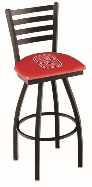 L014 North Carolina State Logo Bar Stool