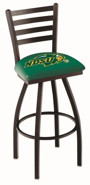 L014 North Dakota State Logo Bar Stool - Green