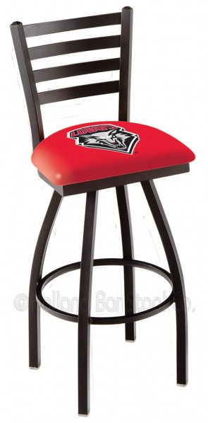 L014 University of New Mexico Logo Bar Stool