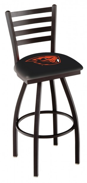 L014 Oregon State University Logo Bar Stool