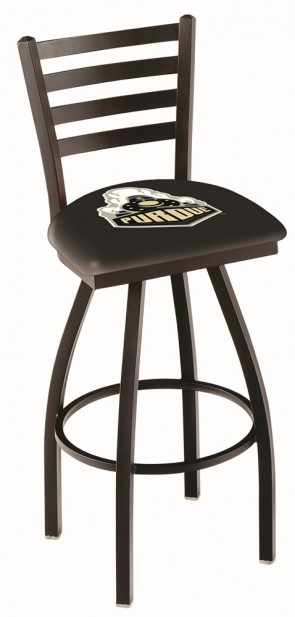 L014 Purdue University Logo Bar Stool