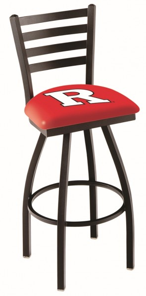 L014 Rutgers University Logo Bar Stool