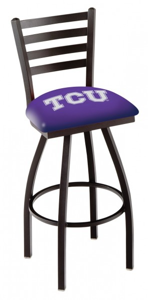 L014 Texas Christian University Logo Bar Stool