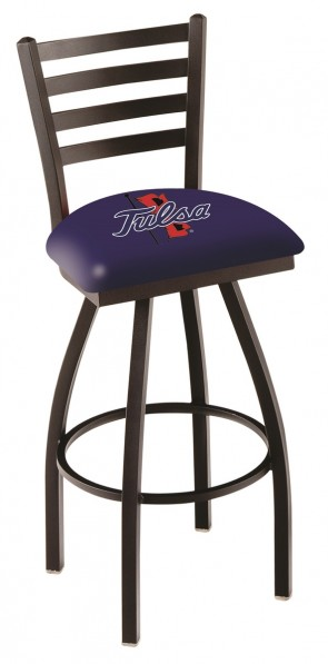 L014 University of Tulsa Logo Bar Stool