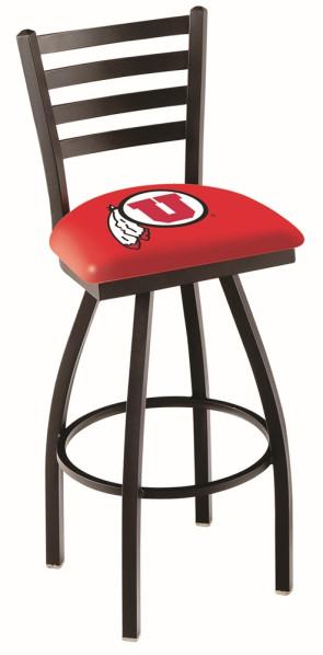 L014 University of Utah Logo Bar Stool