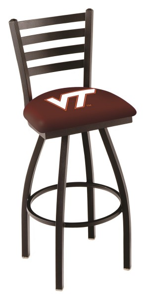 L014 Virginia Tech Logo Bar Stool