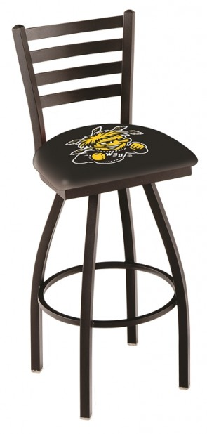 L014 Wichita State University Logo Bar Stool
