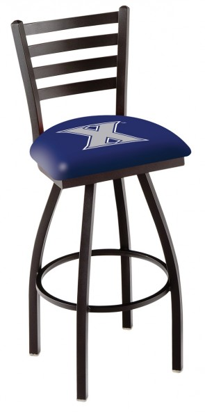 L014 Xavier University Logo Bar Stool
