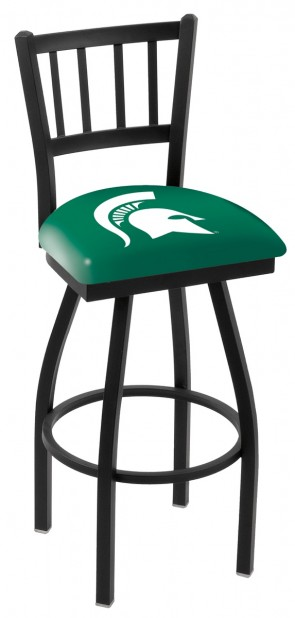 L018 Michigan State University Logo Bar Stool