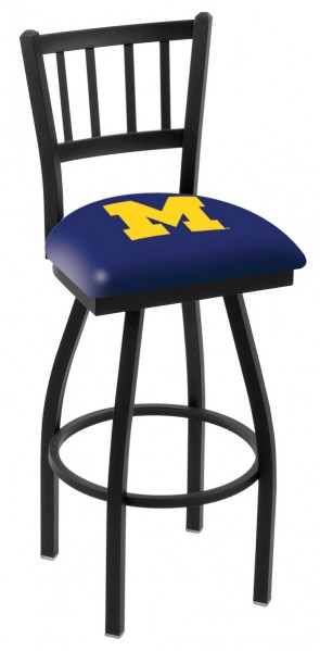 L018 University of Michigan Logo Bar Stool