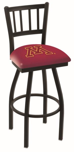 L018 University of Minnesota Logo Bar Stool