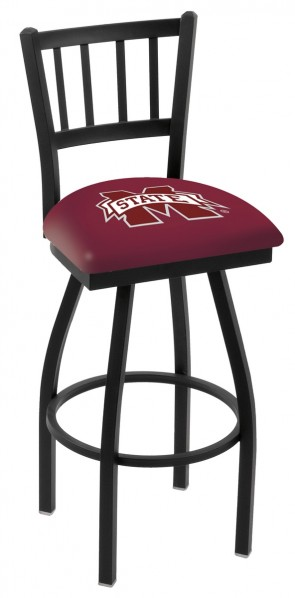 L018 Mississippi State University Logo Bar Stool