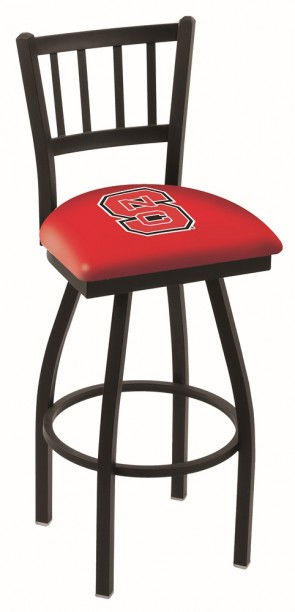 L018 North Carolina State Logo Bar Stool