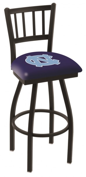 L018 University of North Carolina Logo Bar Stool