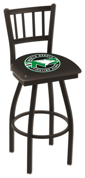 L018 University of North Dakota Logo Bar Stool