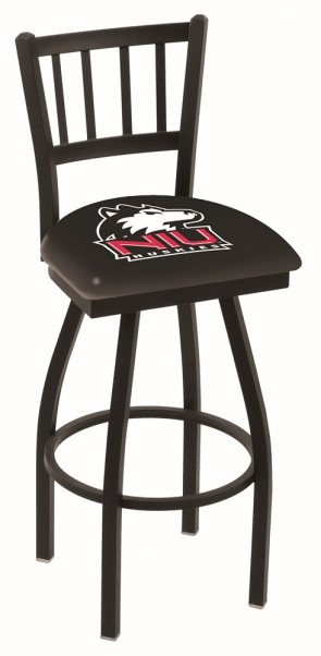 L018 Northern Illinois University Logo Bar Stool