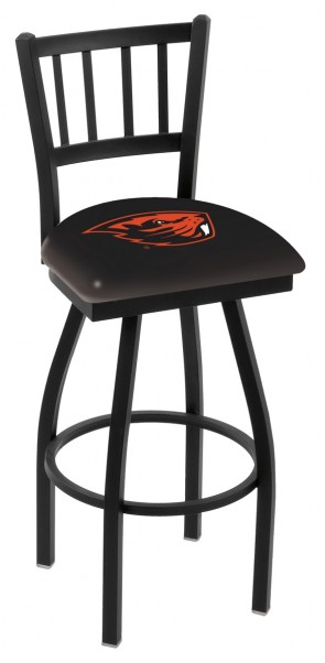 L018 Oregon State University Logo Bar Stool
