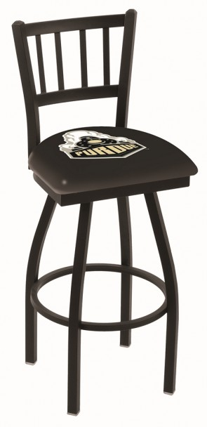 L018 Purdue University Logo Bar Stool
