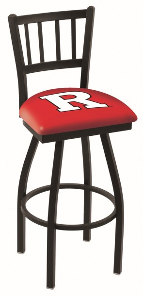 L018 Rutgers University Logo Bar Stool