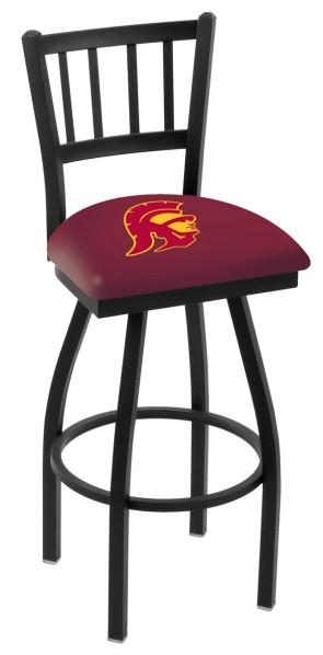 L018 University of Southern California Logo Bar Stool