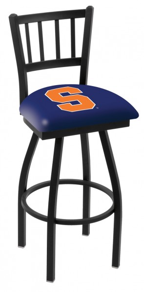 L018 Syracuse University Logo Bar Stool