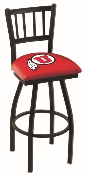L018 University of Utah Logo Bar Stool