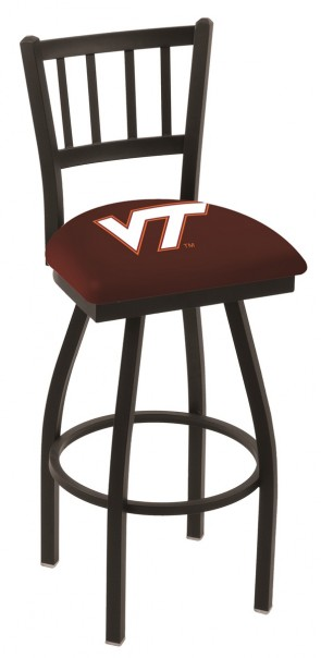 L018 Virginia Tech Logo Bar Stool