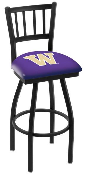 L018 University of Washington Logo Bar Stool
