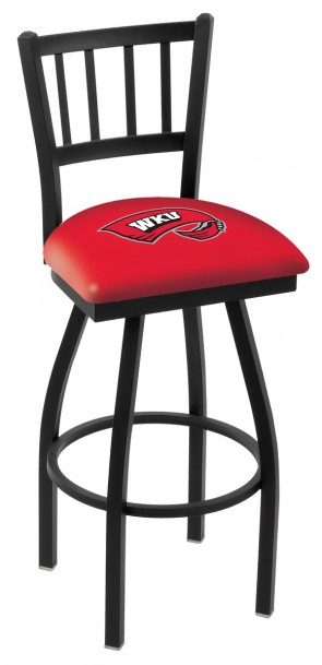 L018 Western Kentucky University Logo Bar Stool