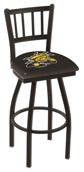 L018 Wichita State University Logo Bar Stool