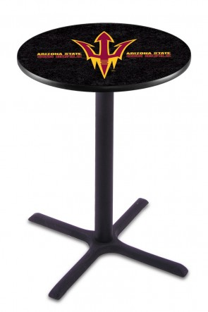 Arizona State L211 Pitchfork Logo Pub Table
