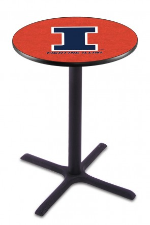 Illinois L211 Logo Pub Table