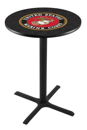 US Marine Corps L211 Logo Pub Table