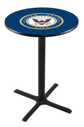 US Navy L211 Logo Pub Table