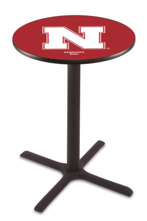 Nebraska L211 Logo Pub Table