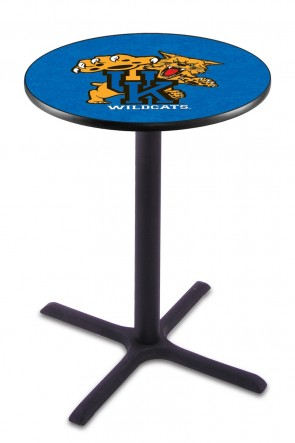 Kentucky Wildcat L211 Logo Pub Table