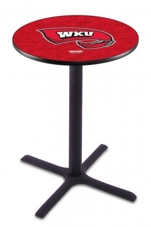 Western Kentucky L211 Logo Pub Table